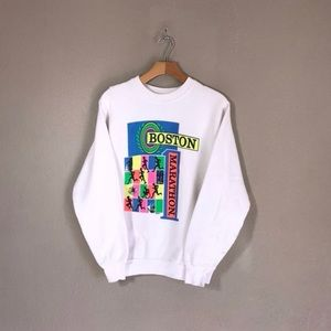 Sweaters - Vintage Boston Marathon Sweatshirt